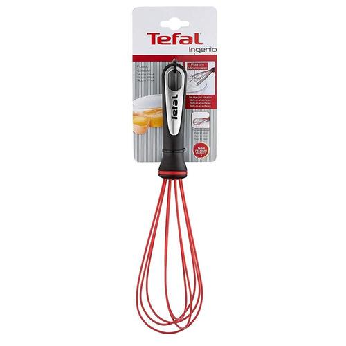 batidor de silicón ingenio rojo t-fal k2071714