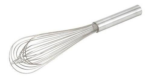 batidor piano acero inoxidable alambres finos 46 cms.