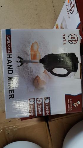batidora 350w anta 6 speds nueva hand mixer