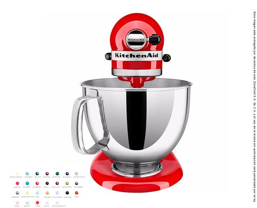 batidora 4.7 lts kitchenaid colores
