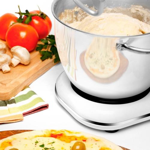 batidora amasadora atma bp8753e 700w 8vel bowl 4.5lts blanco