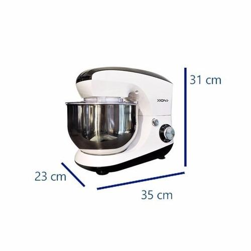 batidora amasadora planetaria xion 800w bowl 5.5 lts pcm