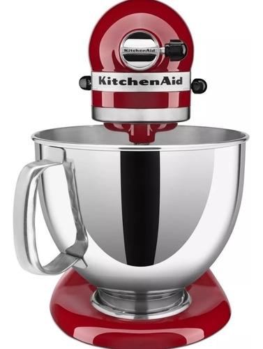 batidora artisan kitchenaid nueva, con aditamentos