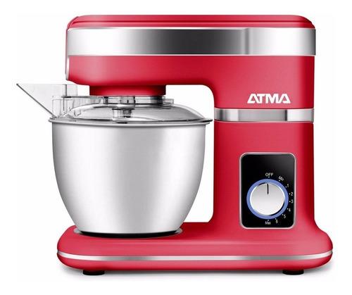 batidora c/bowl rojo bp8753re atma