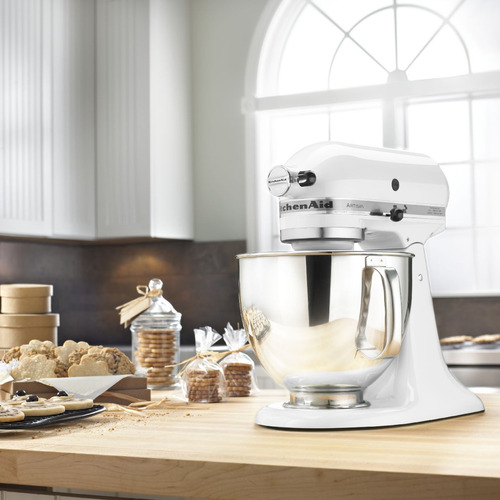 batidora kitchenaid artisan 4,8l 220v blanca
