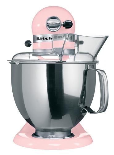 batidora kitchenaid artisan 4,8l 220v rosada