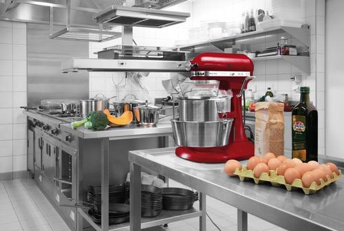 batidora kitchenaid bowl lift 4,8l roja