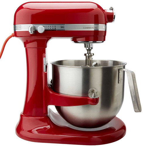 batidora kitchenaid comercial modelo (ksm8990er) nueva caja