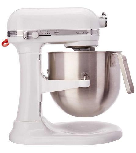 batidora kitchenaid® comercial modelo (ksm8990wh) nueva caja