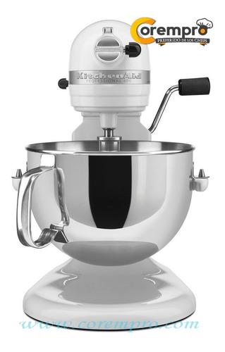 batidora kitchenaid profesional serie 600 blanca