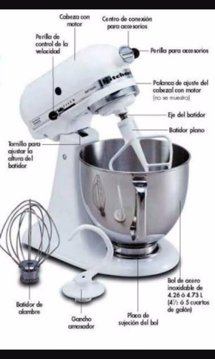 Batidora Kitchenaid Professional 600 Mixer 8 499 00 En