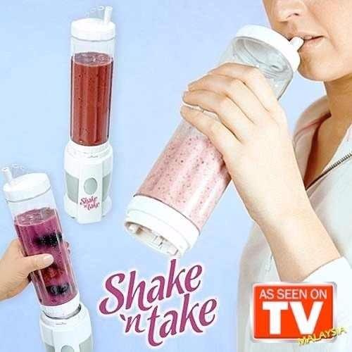 batidora licuadora portatil con vaso desmontable shake take