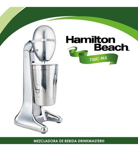 batidora milkshakes hamilton beach chrome classic drinkmaste