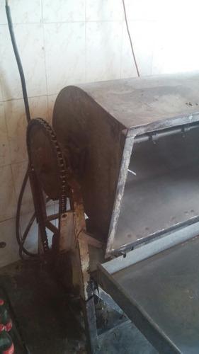 batidora para 150 kilos de masa con reductor 3 hp trifacico