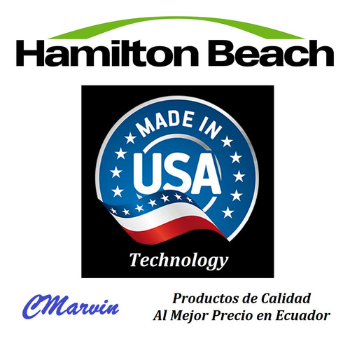 batidora pedestal manual clásica hamilton beach. marvined