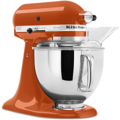 batidora planetaria kitchenaid artisan naranja 325w