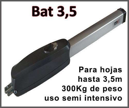 batiente simple actelsa hoja hasta 3,5mts