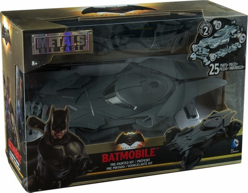 batimovil batman vs superman jada toys metal batmobile dc