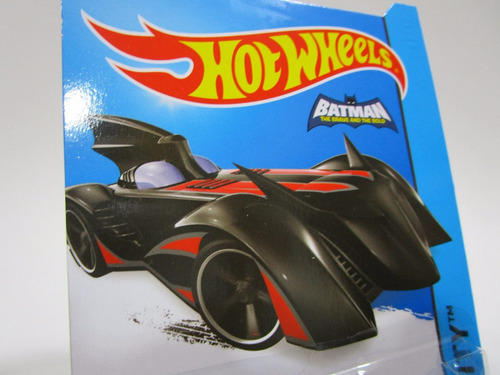 batimovil batmobile batman dc comics miniatura hot wheels