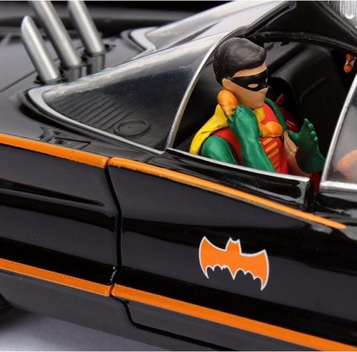 batimovil batmobile  serie tv 1966 batman & robin jada metal