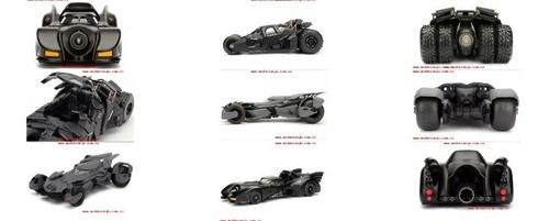 batimóvil escala 1:24 jada toys metals batman tumbler