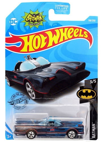 batimovil hot wheels 2015 tv serie batmobile coleccion pocos