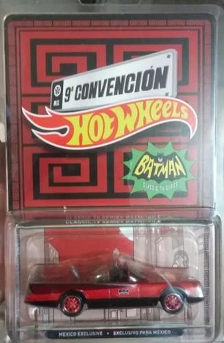 batimovil hot wheels 9a convencion mexico 2016