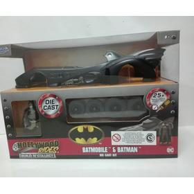 Batimóvil Para Armar, Con Figura De Batman, ¡versión Nueva!