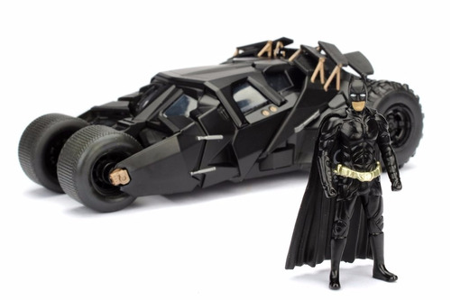 batimovil the dark knight- batman - 1:24 dc - jada
