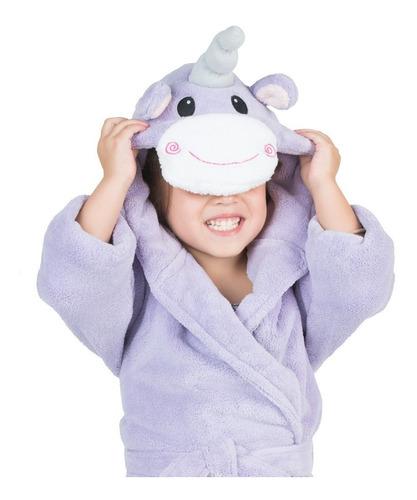 batita microfibra de baño esquimal unicornio