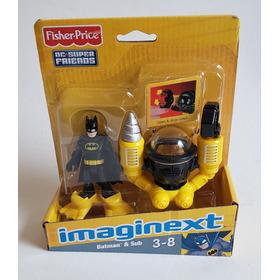 Batman & Sub Imaginext Fisher-price Dc Friends Original