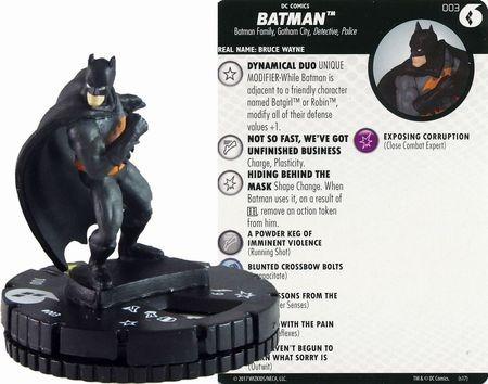 Batman #003 Harley Quinn Gotham & Girls Fast Forces Heroclix