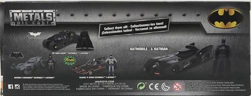 batman 1:24 batimovil 6 con figura 1989 clt 98260