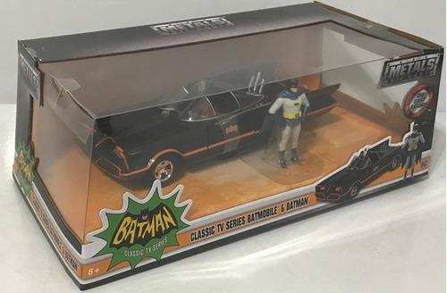 batman 1:24 batimovil clasico 1966 con figura clt 98259