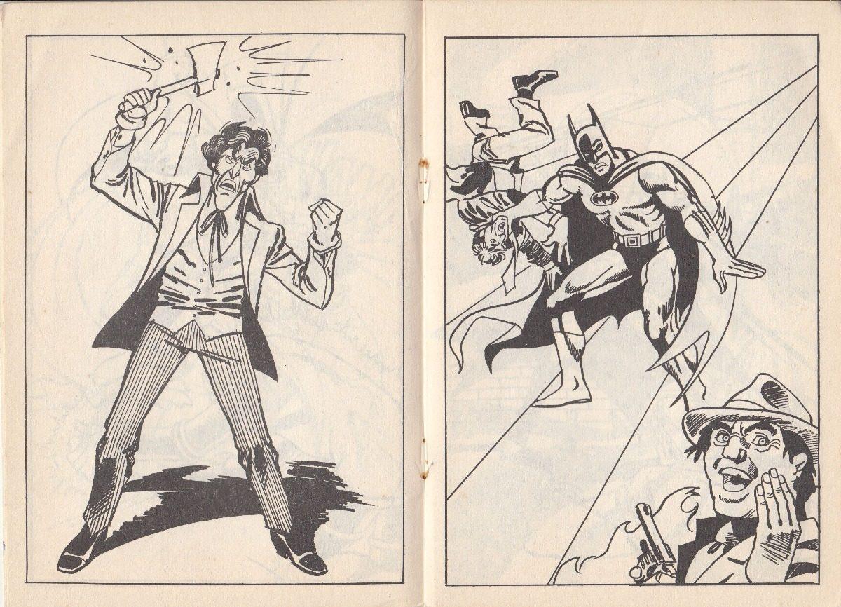 Vistoso Batman Para Colorear Libros Cresta - Ideas Para Colorear ...