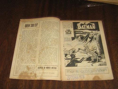 batman 2ª série nº 69  março /1967  editora ebal raro !