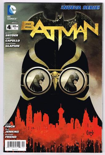 batman # 4 - editorial televisa
