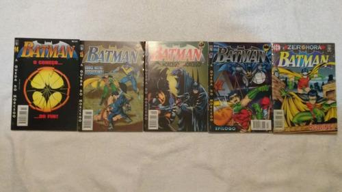 batman 4ª série a queda do morcego 18 números de 19 (-18)
