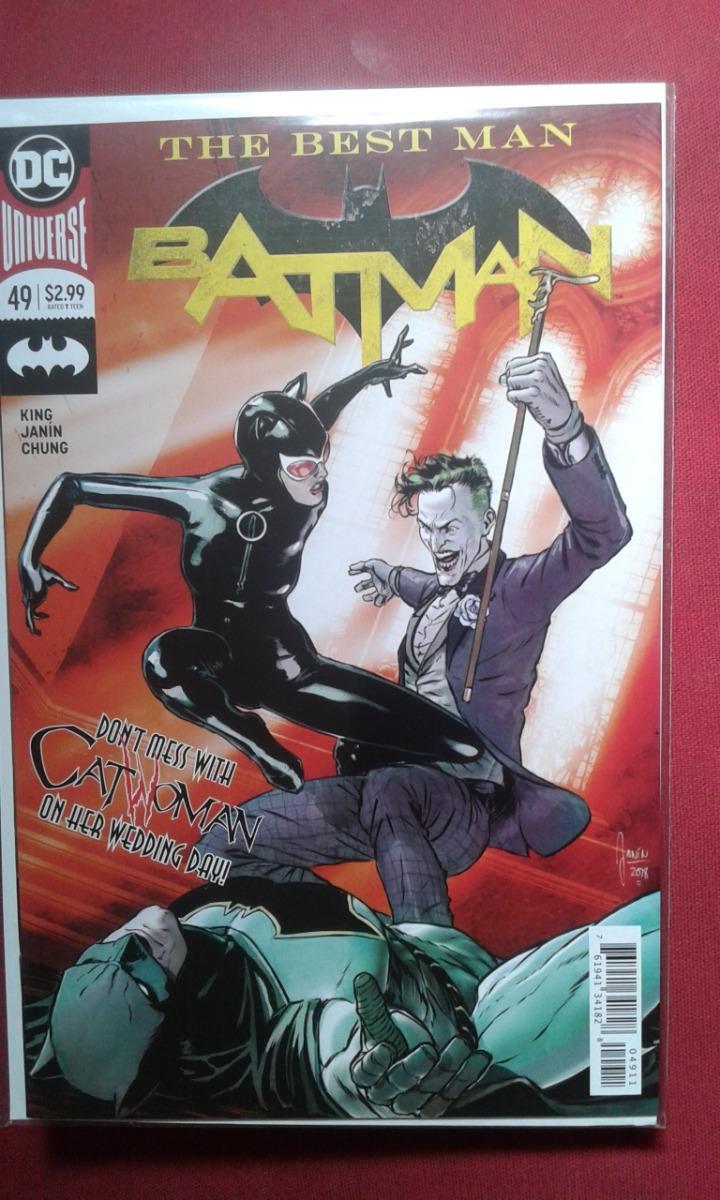 a1220028ba03 Batman  49 (previo A La Boda) - Ingles. Portada Regular -   150.00 ...