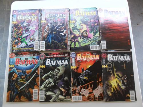batman 5ª série da ed. abril! vários! r$ 10,00 cada! 1996!