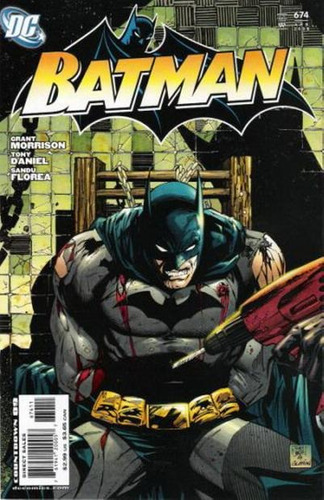 batman # 674 - ingles