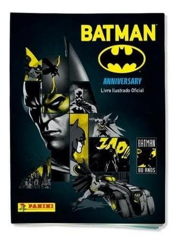 batman 80 anos album completo com 228 figurinhas para colar
