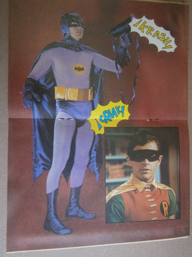 batman adam west burt ward poster veronica castro teleguia