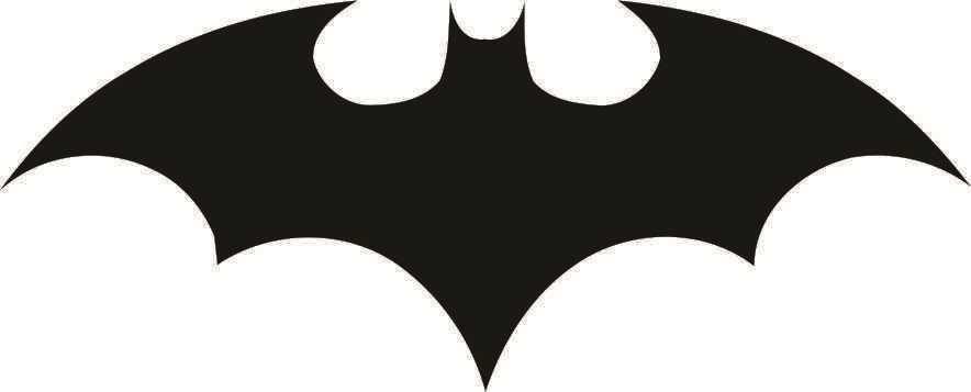 Batman Adesivo Batman Símbolo Adesivo Mod 05