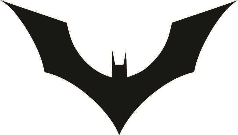 Batman Adesivo Simbolo Batman Símbolo Adesivo-mod 39