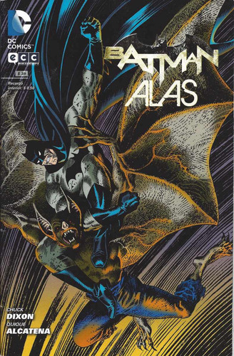 batman alas y batman clay 2 tomos dixon y alcatena dc comics