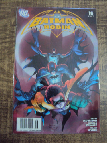 batman and robin # 16 - importada