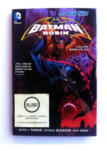 batman and robin vol. 1 hc (2012) dc comics (the new 52)