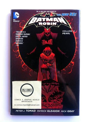 batman and robin vol. 2 hc (2013) dc comics (the new 52)