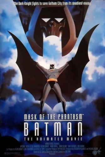 batman animated series animada mask of phantasm doble pack